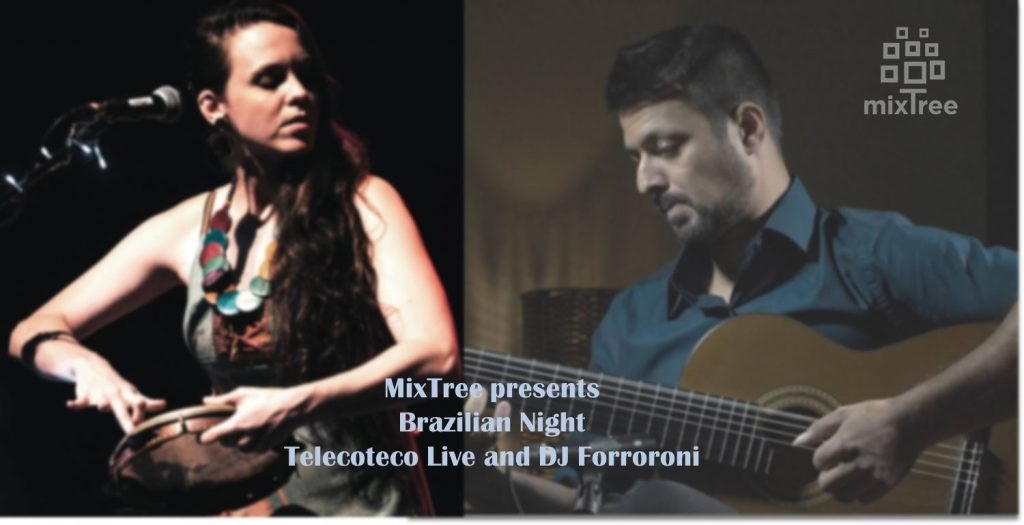 Sicilian dinner with Brazilian evening, special guests '' Telecoteco Project Live and DJ Forroroni ''