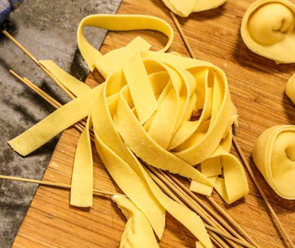 homemade pappardelle fresh pasta sicilian delivery amsterdam