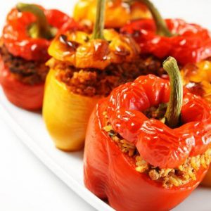 peppers stuffed with meat homemade sicilian delivery amsterdam