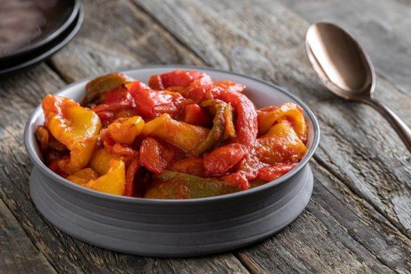 caponata peppers homemade sicilian delivery amsterdam
