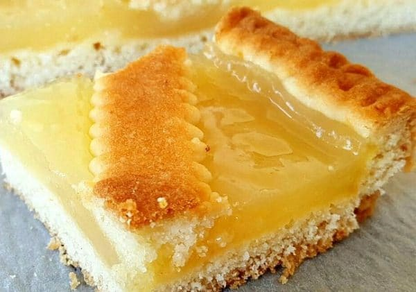 crostata with lemon curd homemade sicilian delivery amsterdam