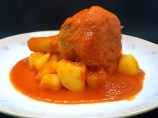 artichoke stuffed with tomato sauce and potatoes sicilian delivery